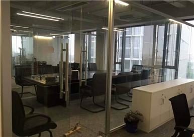 重庆铝合金玻璃隔断安装
